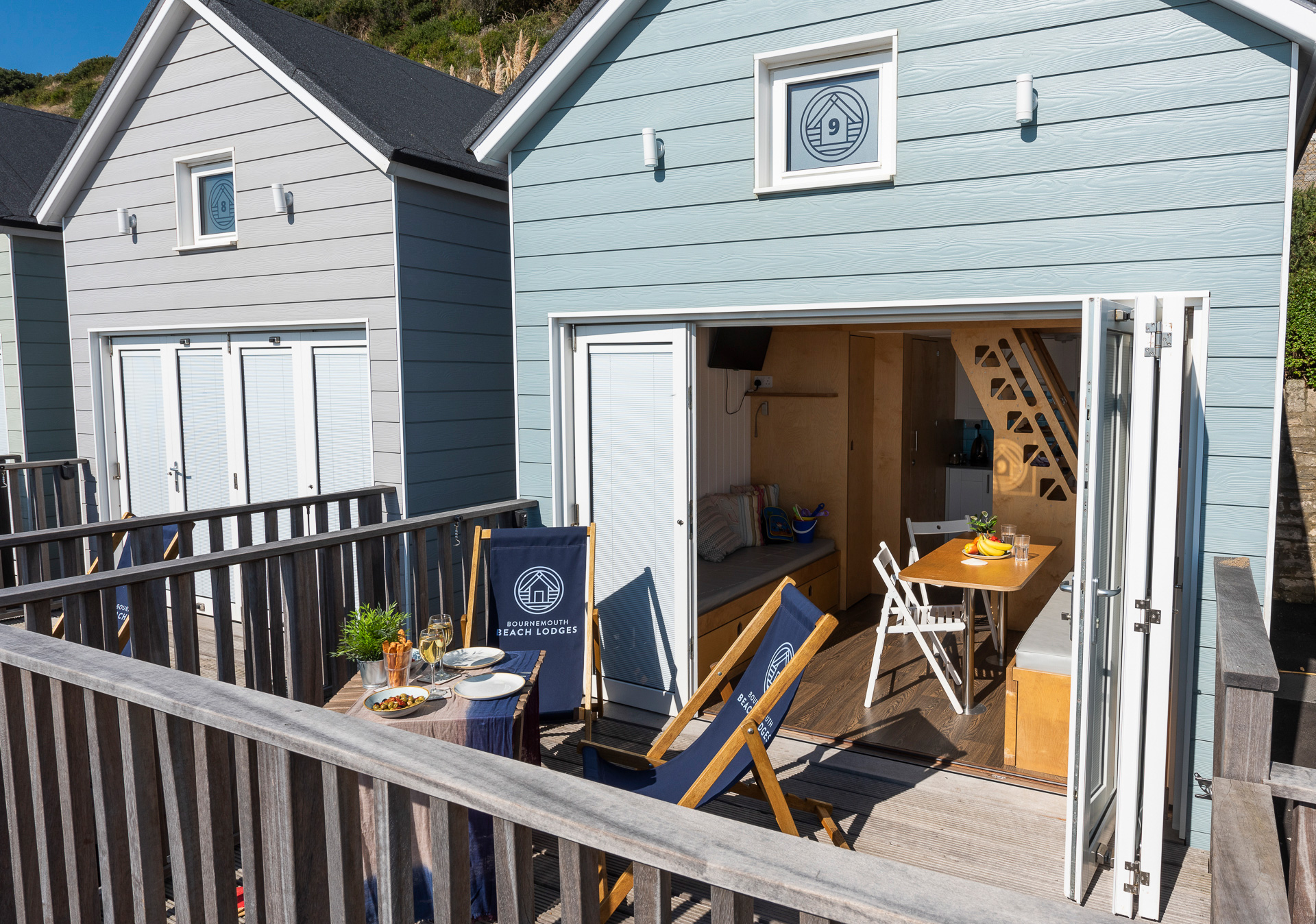 Bournemouth Beach Lodges - Deck