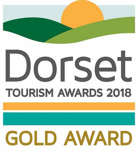Dorset Tourism Awards 2018 - Gold Award logo